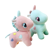 1 Pcs Baby Soft Unicorn Cute Stuffed Plush Toys for Children Toys Kids Doll Animal Adult Girls Toy Pillow Birthday Party Gift цена 2017