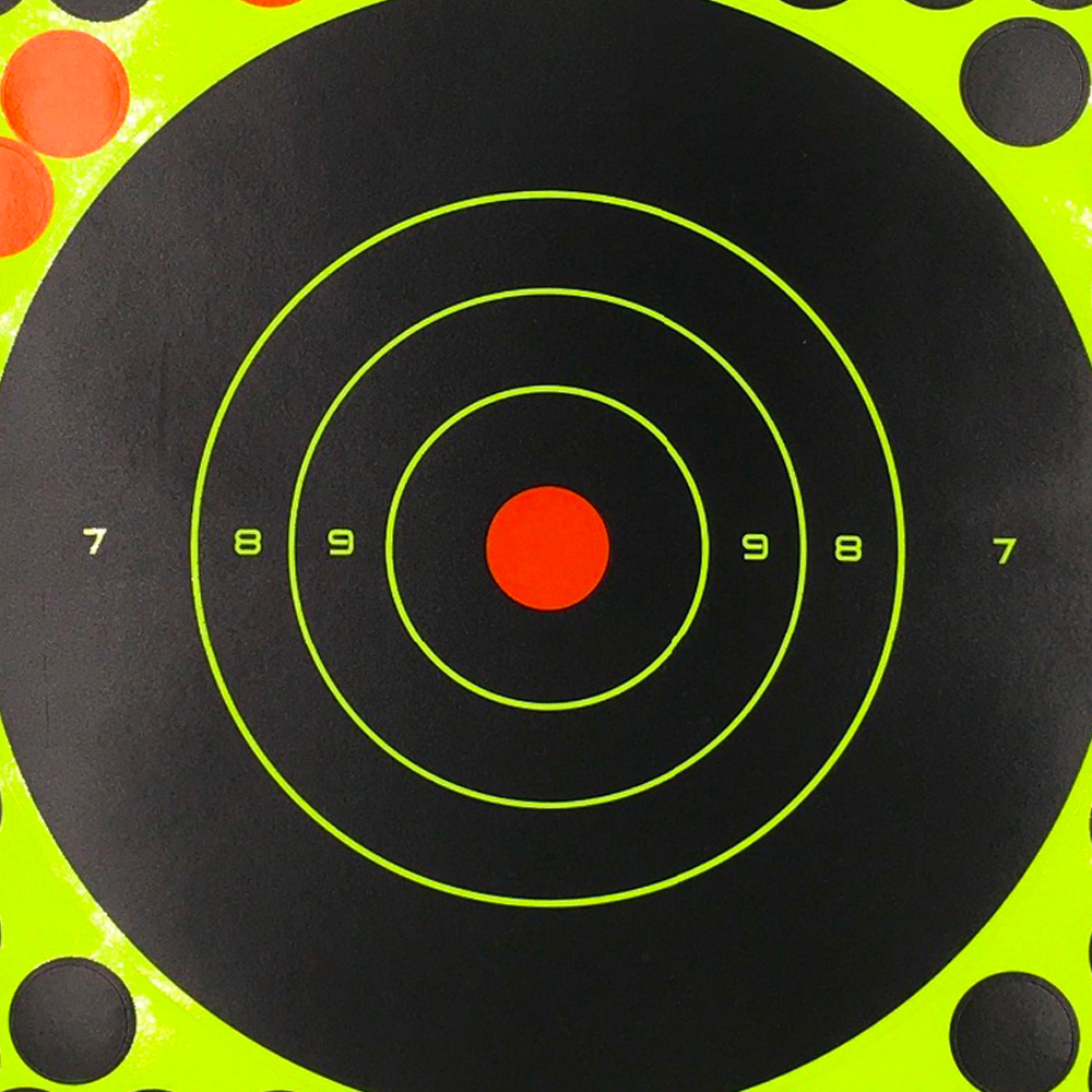 Image 3 - 20PC Splash flower Target 8Inch Adhesive Reactivity Target Shooting Aim Gun/Rifle/Pistol Binders Used for Hunting Archery Target-in Paintball Accessories from Sports & Entertainment