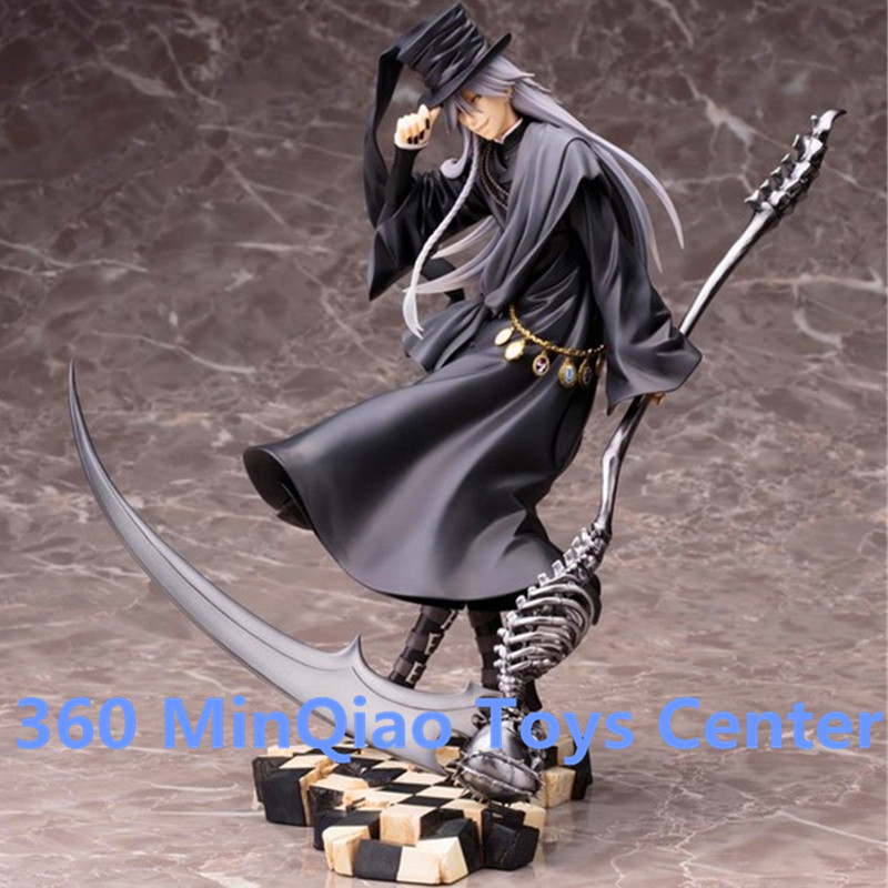ФОТО Anime Black Butler Under Taker Book of Circus PVC Action Figure Collectible Model Toy 25cm Boxed WU1018
