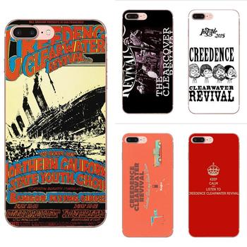 Lovely Plastic Phone Accessories Case For Xiaomi Redmi Note 2 3 3S 4 4A 4X 5 5A 6 6A Pro Plus Creedence Clearwater Revival image