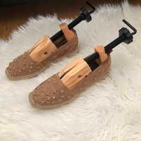 ABDB New Men Women Wooden Adjustable 2-Way Professional Shoe Stretcher shoe tree stretcher shoe Flats Pumps Boots Expander Trees