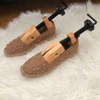 ABDB nuevo hombres mujeres de madera ajustable 2-Way profesional zapato Camilla árbol zapatos planos bombas botas expansor árboles