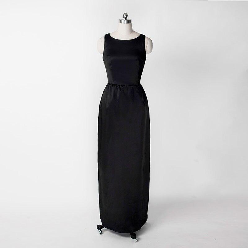 162a29b4a S Vestidos Vintage Delgado De Elegantes Hepburn Negro 60 Retro Las ...