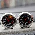 Dial del coche termómetro y higrómetro diseño especial para una fácil fijación ángulo de inclinación ajustable de Temperatura y humedad display