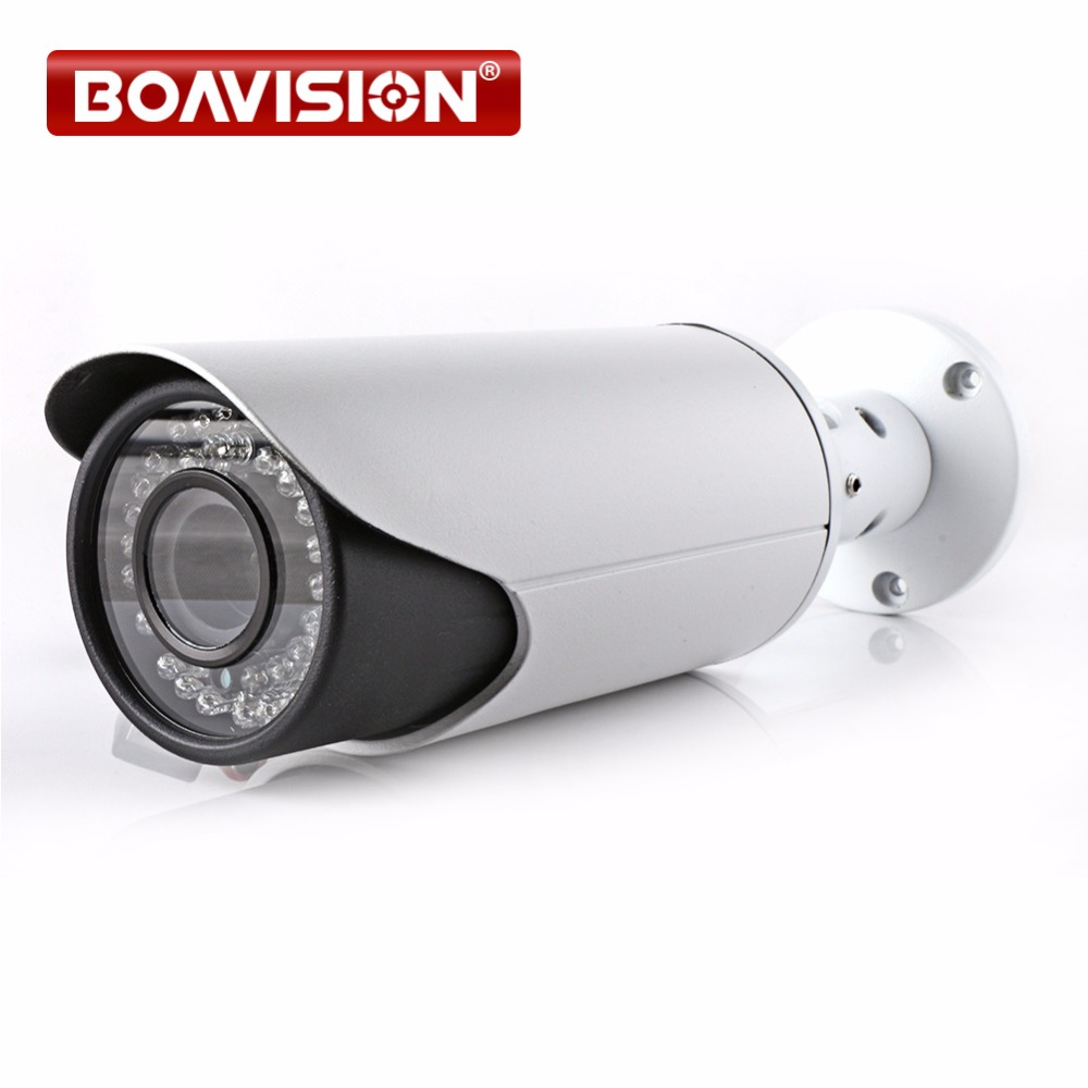 H.264 2MP HD 1080P IP Camera Outdoor Network Bullet Camera POE Port 4X Zoom Auto Iris Motorized Lens IR 40m Security Camera marviosafer 1080p 2mp new h 264 bullet ptz poe outdoor network ip camera 5 1 51mm 10x optical zoom lens onvif cctv video