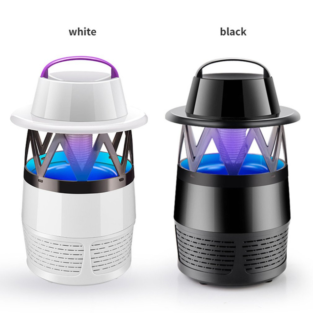 Inhalant Mosquito Killer Lamp Electronic Bug Zapper Light No Radiation Usb Power Led