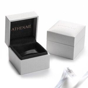 Image 5 - Athenaie original Murano Glas 925 Silber Core Fünf Petaled Blumen Charme Perlen Fit Pandora Armbänder und Halsketten Farbe Lila