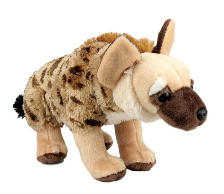 Stuffed Wild Doll Toys African Wolf Spotted Hyenas  Simulation Animals  Plush Toy Children Dolls Rare simulation children s toy plush animals stuffed toys doll hamster dolls kawaii gifts guinea pig