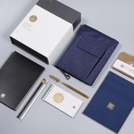 ZAMX Business Style Planner Briefpapierbenodigdheden. Reizen, School, - Notitieblokken en schrijfblokken bedrukken - Foto 3