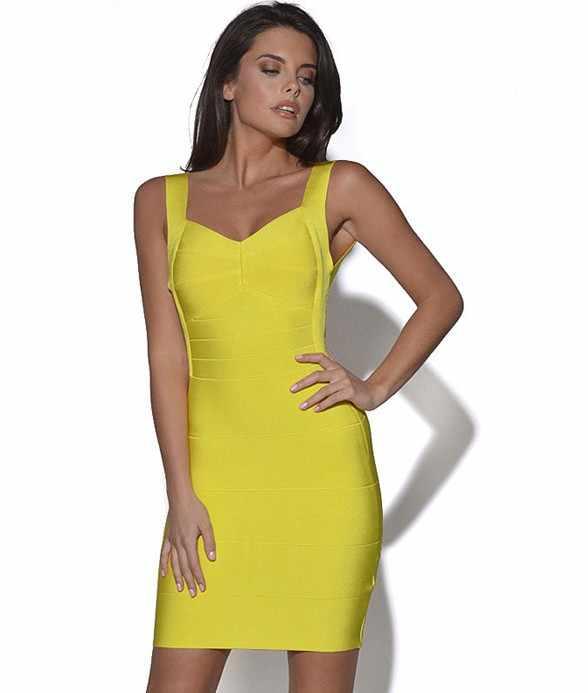 Летние красные, черные, желтые оболочка платье с открытой спиной, пикантный Bodycon бинты мини платья для вечеринок Клубная одежда платья для женщин наряд