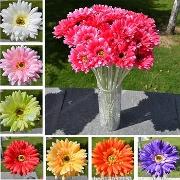 10 шт., искусственные цветы