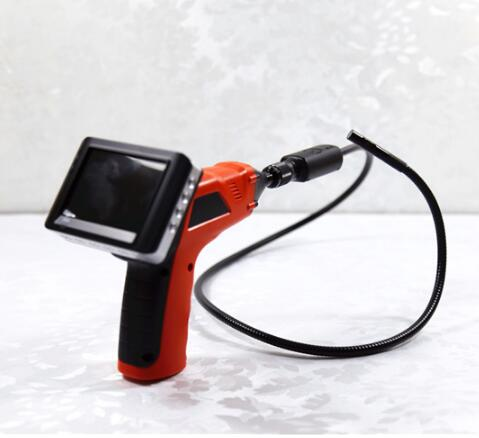9MM Dual Camera 3.5 Inch Color Display AV Handheld Endoscope