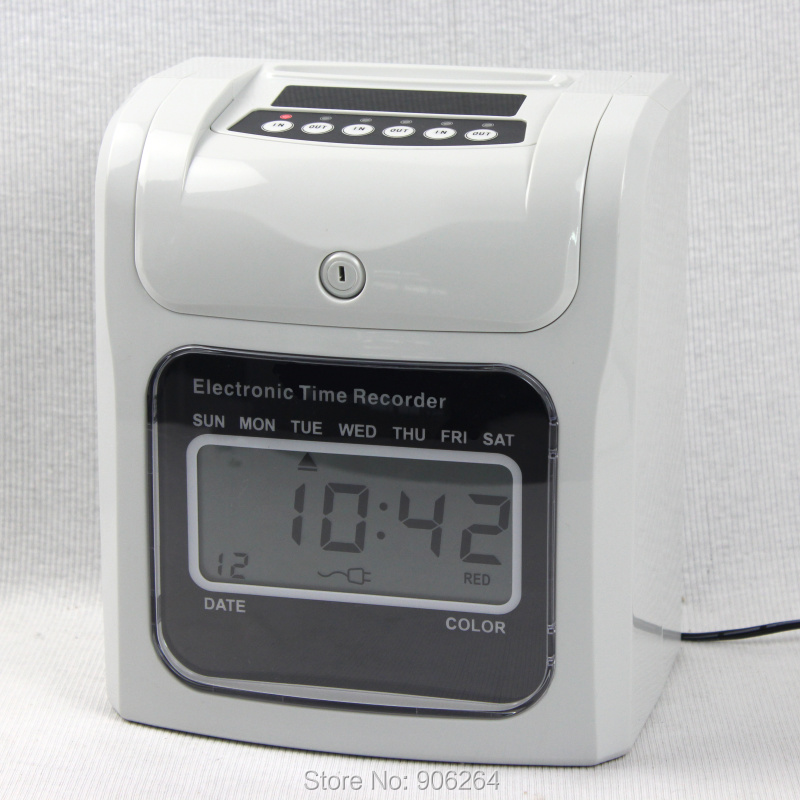 Export Attendance Machine S-960S High Popular Selling, with Clock, All English Button Present 50 pieces of Paper женские чулки export