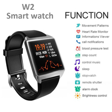 Timethinker W2 Smart Bracelet Men Wristband Fitness Tracker Blood Pressure Heart Rate Monitor AGPS Pedometer pk for Ionic
