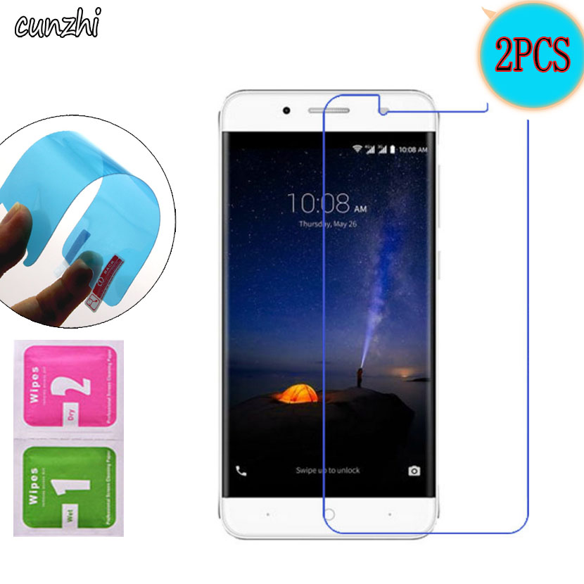 2PCS For <font><b>ZTE</b></font> <font><b>A610Plus</b></font> Ultra Clear TPU Soft Nano Explosion-proof Screen Protector Mobile Phone Film For <font><b>ZTE</b></font> <font><b>Blade</b></font> A610 Plus image
