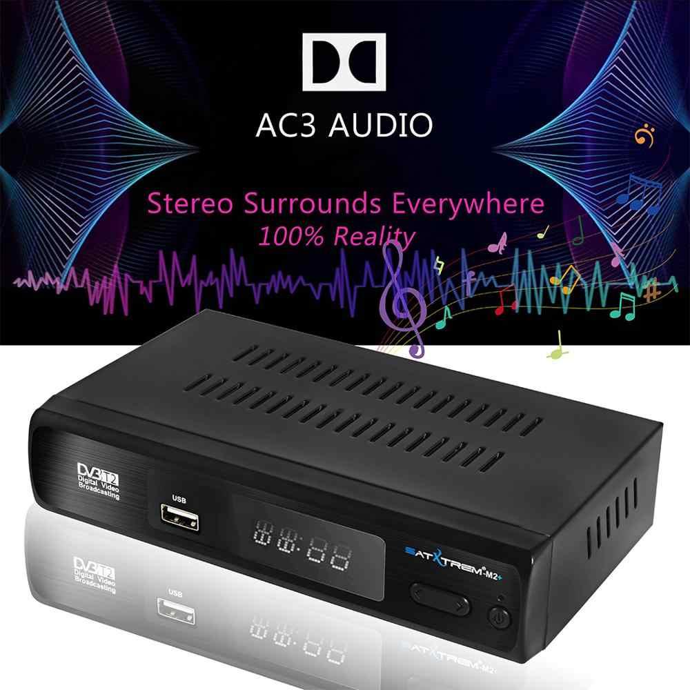 Satxtrem M2 Plus DVB-T2/DVB-T TV Tuner HD DVB T2 USB Wifi Empfänger Digital TV DVBT2 Vga Smart TV box Unterstützung AC3 Audio PVR EPG