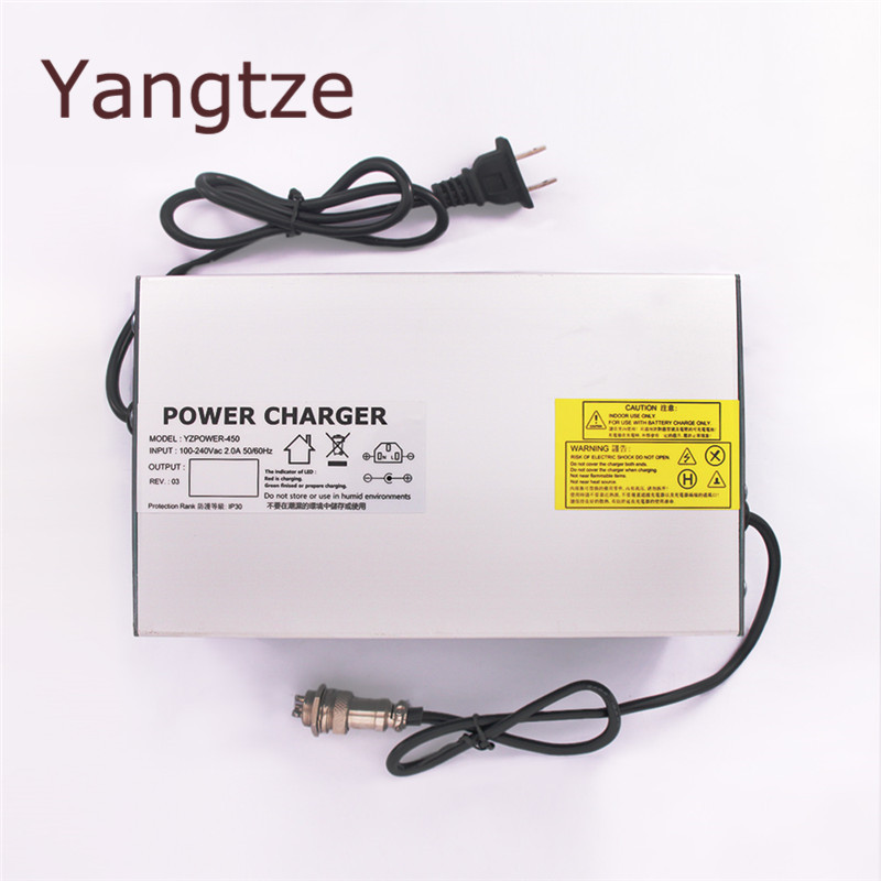 Yangtze 12.6V 40A Lithium Battery Charger For 12V E-bike Li-Ion Battery Pack AC-DC Power Supply for Electric bicycle free shipping 12v 40ah lithium battery ion pack rechargeable for laptop power bank 12v ups cell electric bike 3a charger