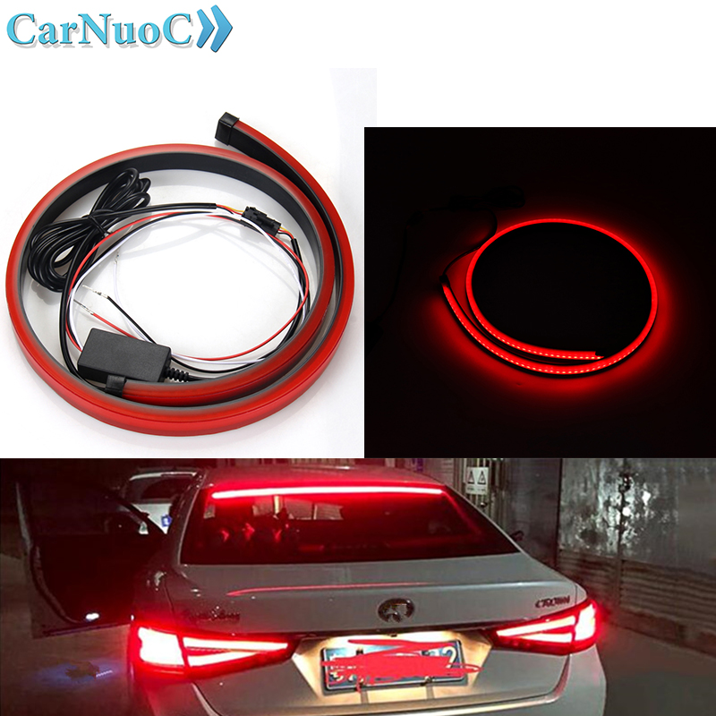 Detail Feedback Questions About Red Flowing Flashing Car Third Brake Light 12v Led Rear Tail High Mount Stop Lamp For Trailer Pickup Jeep Rv Van Dodge