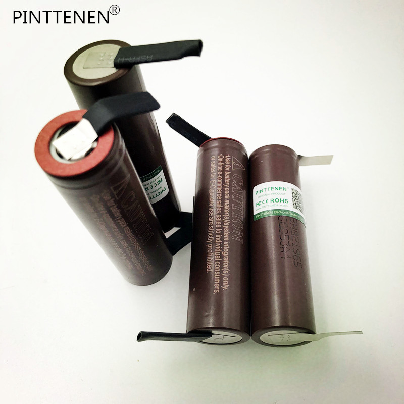 PINTTENEN Original for LG HG2 18650 3000mAh battery 3.6V discharge 20A dedicated electronic cigarette +DIY Nicke