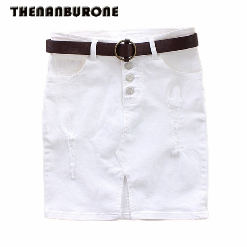 Compare Prices on White Denim Skirts- Online Shopping/Buy Low ...