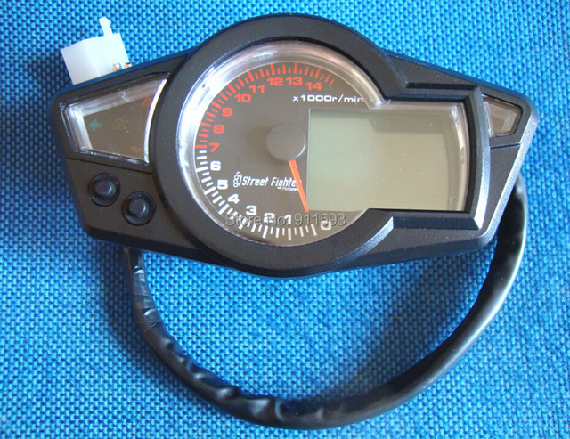 "Мотоцикл ремонт жк-цифровой спидометр тахометр 14000 об./мин. fit 10 "" - 21 "" высокое качество"
