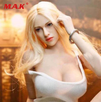 S02A S06B S09C S18A S19B S20A S21B S22A S23B 1/6 TBLeague Ph seamless mid/large breast bust female body 1/6 head action figure 1 6 scale female white shirt custom made version women s waist shirt for large bust ph body female action figure