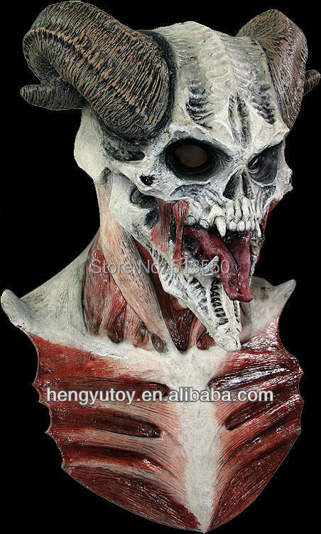 buy hot sale deluxe halloween costoms horror masks latex monster mask from reliable mask cream suppliers on huizhou hengyu toy co ltd
