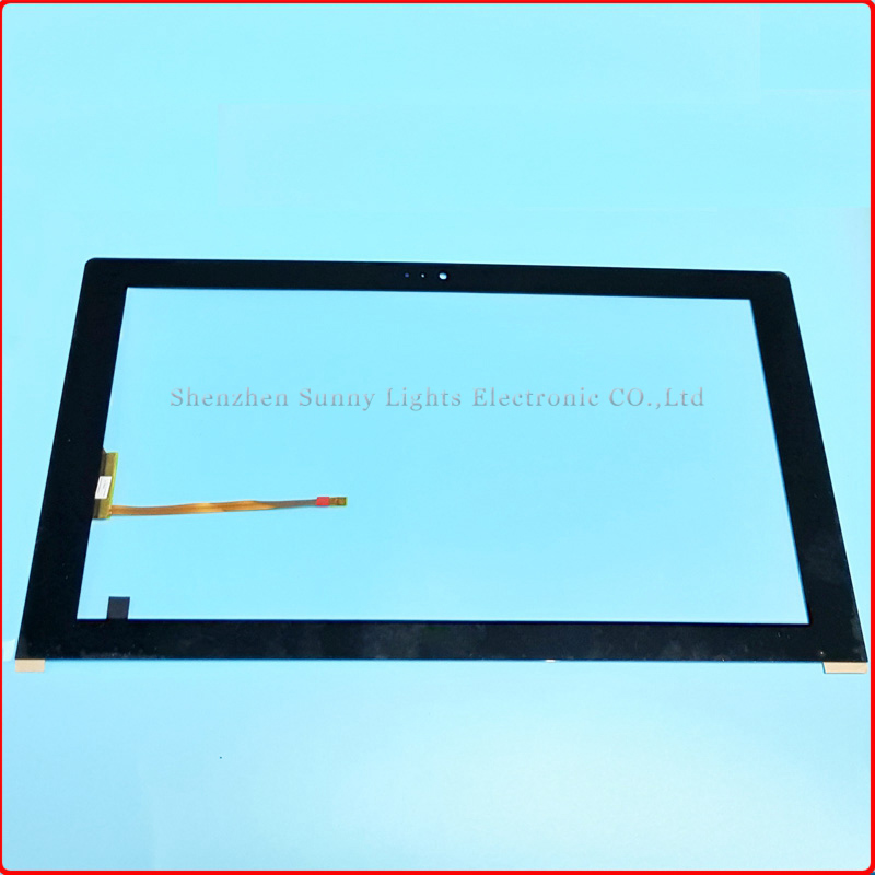 Black New 13.3'' inch Capacitive Touch screen panel digitizer sensor for 133015C-n-2-00 133015C-B-1-00 Tablet PC Free shipping 100% original new black 8 9inch tablet pc capacitive touch screen for supra m942g panel digitizer sensor free shipping