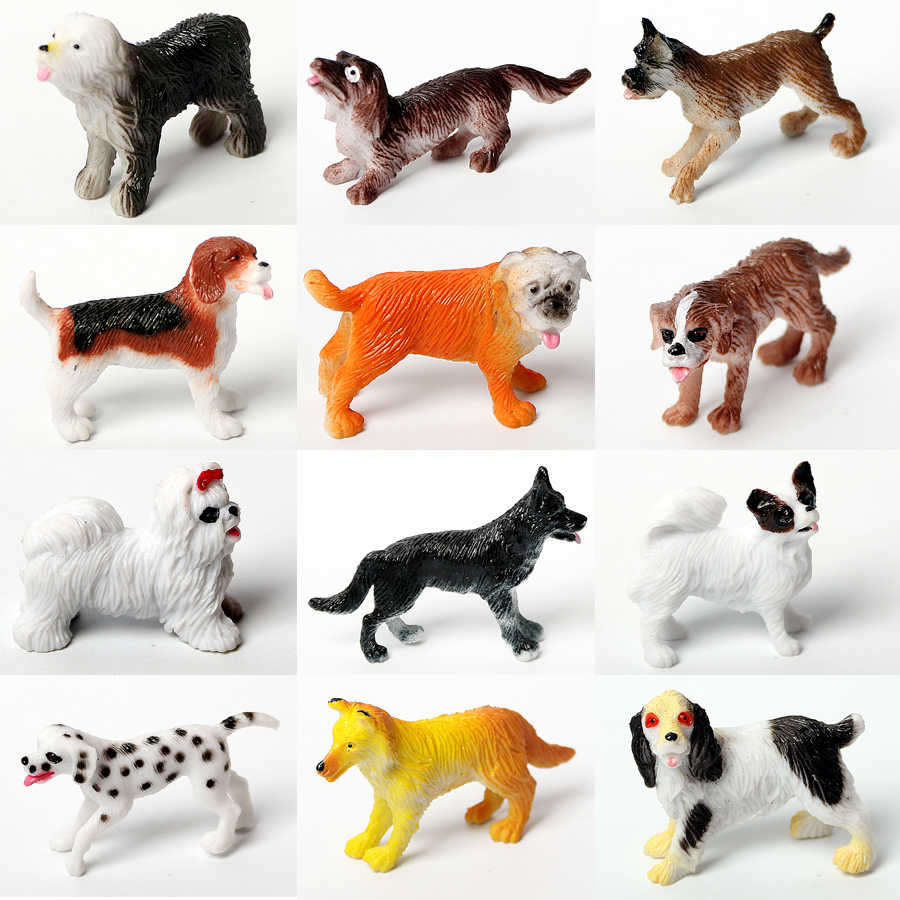Realista figura de Ação Brinquedo modelo Animal Selvagem, Cavalo, gato, pássaros, animal de estimação do cão Jogar Jogos de Sala de Aula Educacional Figuras de Animais