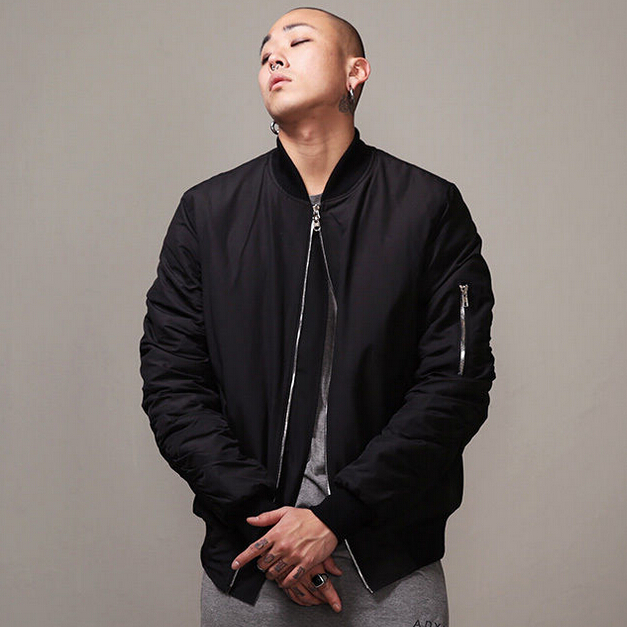 black bomber jacket mens page 3 - fleece