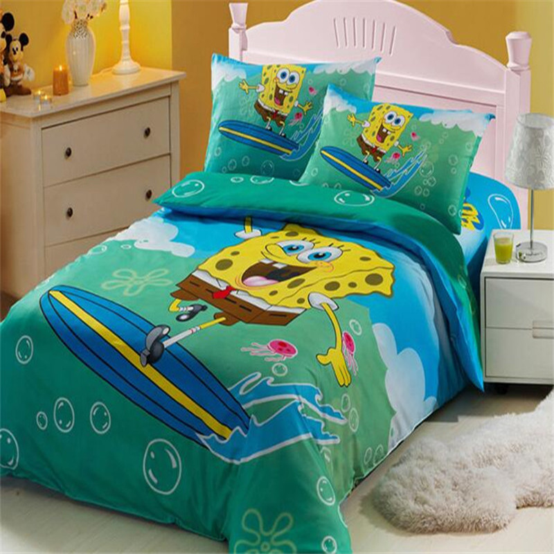 Online Buy Wholesale spongebob bedding queen size from ...
