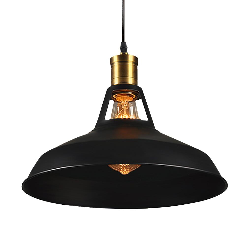 Vintage Pendentif Lumières Loft Pendentif Lampe Rétro Suspendus Lampe Abat-Jour Pour Restaurant/Bar/Café Accueil Boutique Éclairage Luminarias