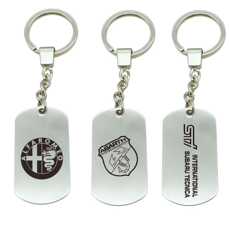 for Jeep luluda car Keyring Logo Metal Keychain Badge Key Ring Emblem Key Holder Chain