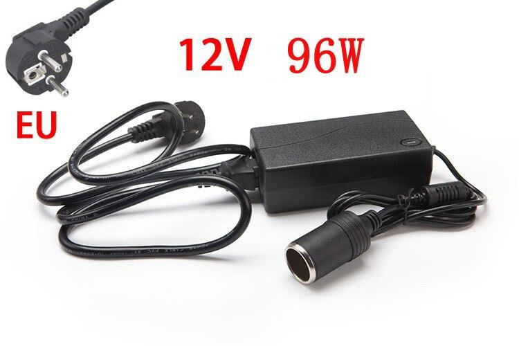 96 W AC 100 V-240 V a DC 12 V encendedor del coche convertidor adaptador AC/DC transformador convertidor de corriente continua entrega libre