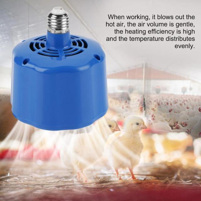 100 300W Chicken Heating Lamp Animal Warm Light Heater Cultivation Heating Lamp for Pet Chicken Livestock Heat Lamp Lighting