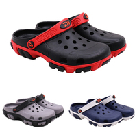 Men's Garden Clogs Lightweight Fishing Shoes Breathable Sandals Outdoor Quick Drying Water Shoes Non Slip Slippers