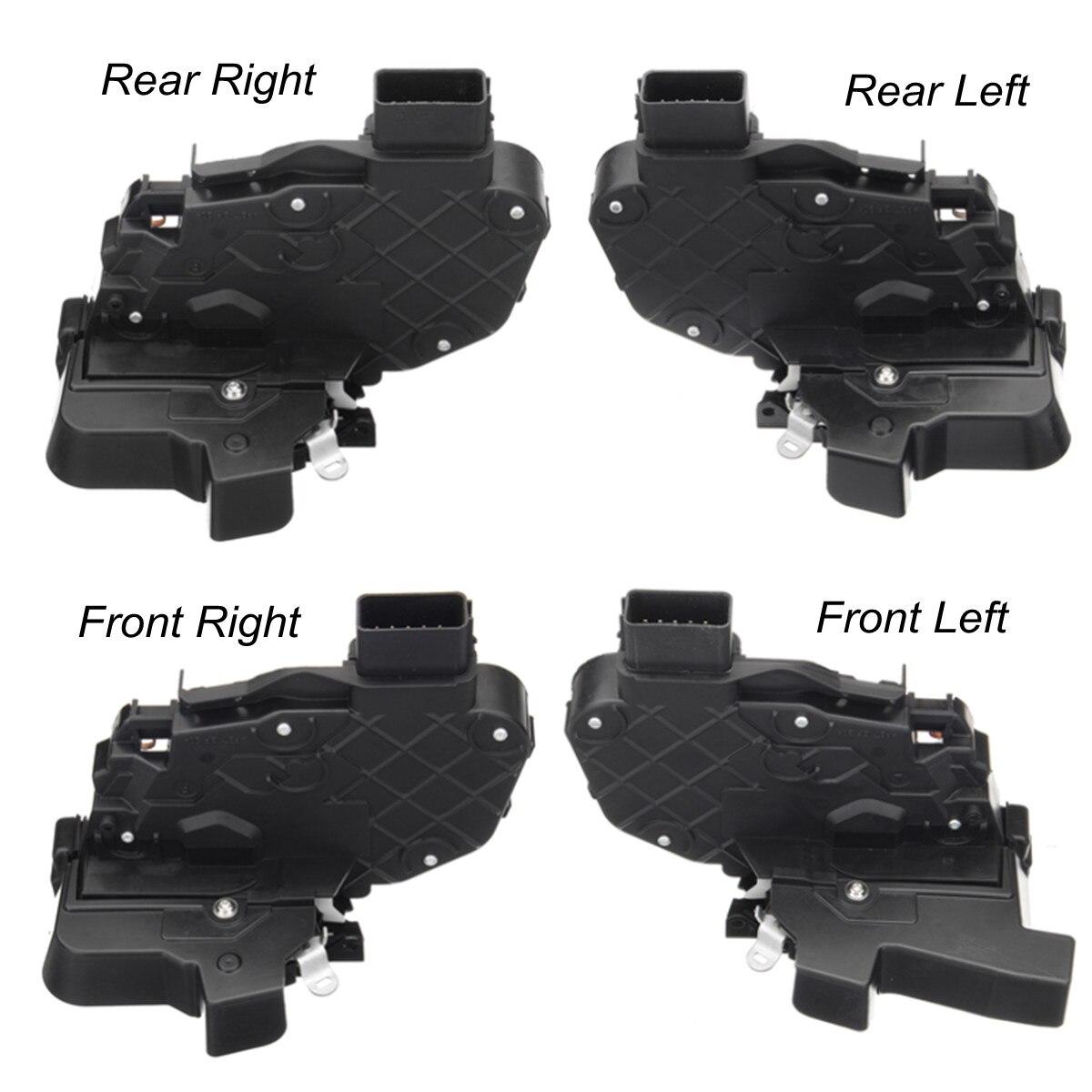 Mécanisme de verrouillage de porte de voiture actionneur pour Land Rover Freelander Evoque serrures matériel pièces de rechange avant/arrière gauche/droite