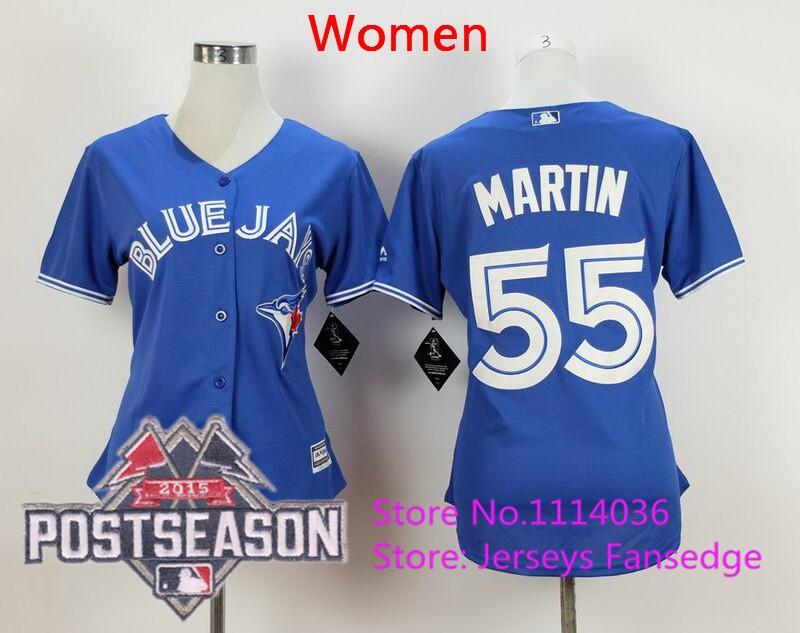 55 Russell Martin blue women