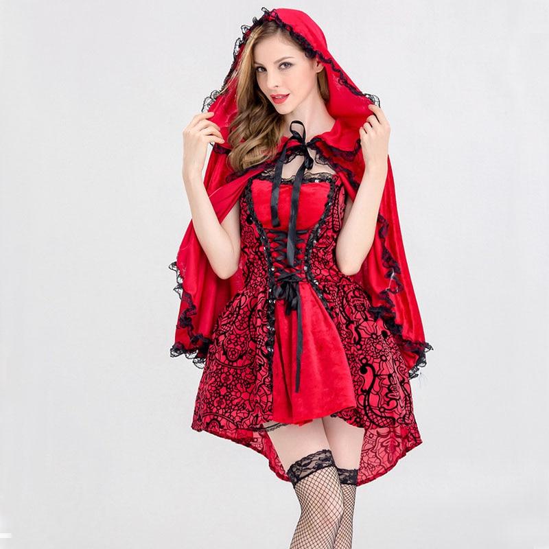 Aliexpresscom  Buy Adult Women Fairy Tale Little Red -8158