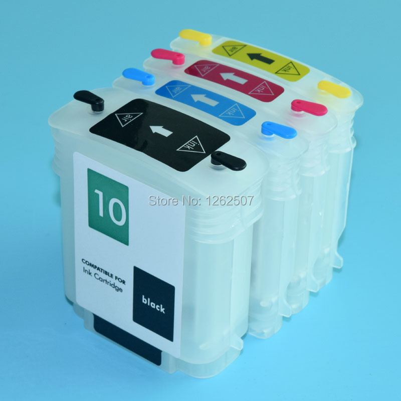 BOMA-TEAM HP940 HP940XL 940 <font><b>940XL</b></font> C4902A C4903A C4904A C4905A Refilable Ink cartridge For HP Officejet 8000 8500 Printers image