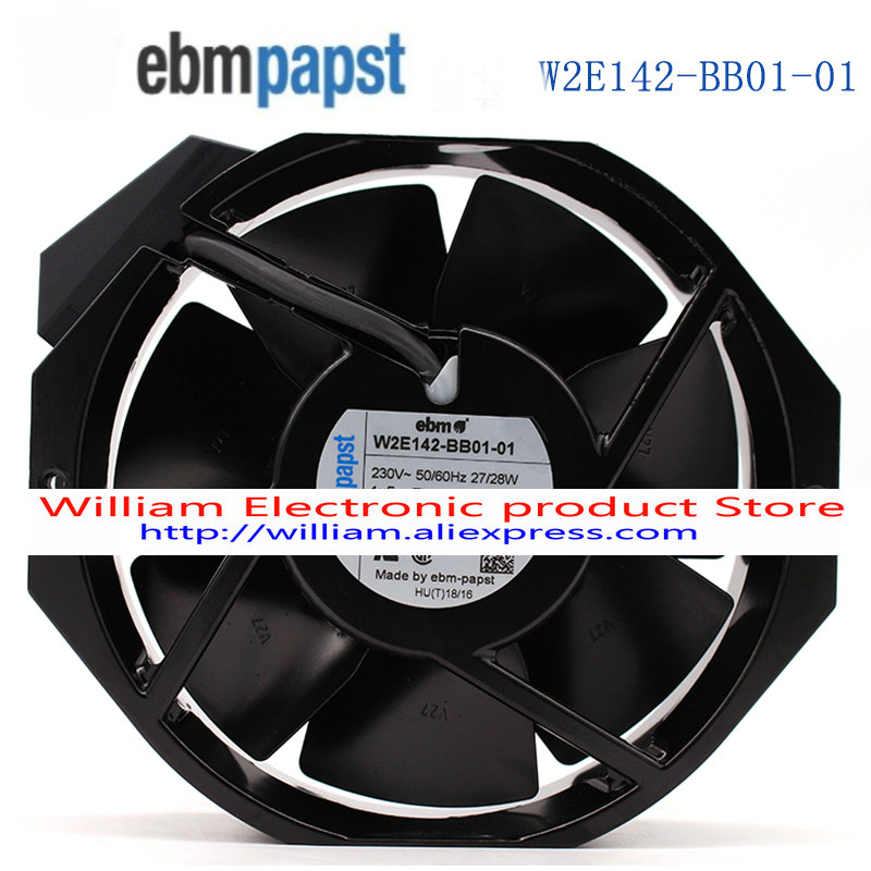 Nouveau Original ebmpapst W2E142-BB01-01 172*38 7056ES UPS 230 V ventilateur de refroidissement