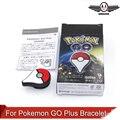 Pokemon ИДТИ Плюс Bluetooth Браслет интерактивные игрушки рис. поддержка IOS и Android