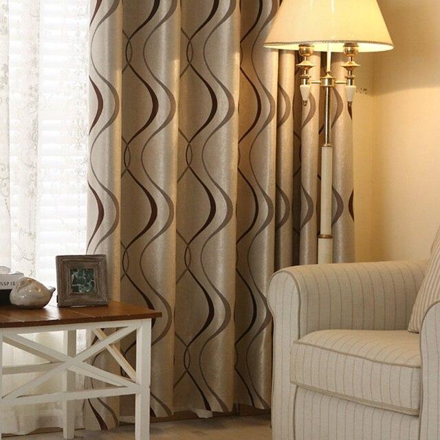 Topfinel толстые роскошные волнистые полосатый шторы для гостиной спальни украшения дома современные затемненные окон Занавески для гостиной