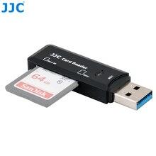 JJC 5 Gbps USB 3.0 Kamera Hafıza kart okuyucu SD/Mikro SD/TF/SDHC/SDXC Okuyucular win98/ME/2000/XP/WIN7/Mac OS