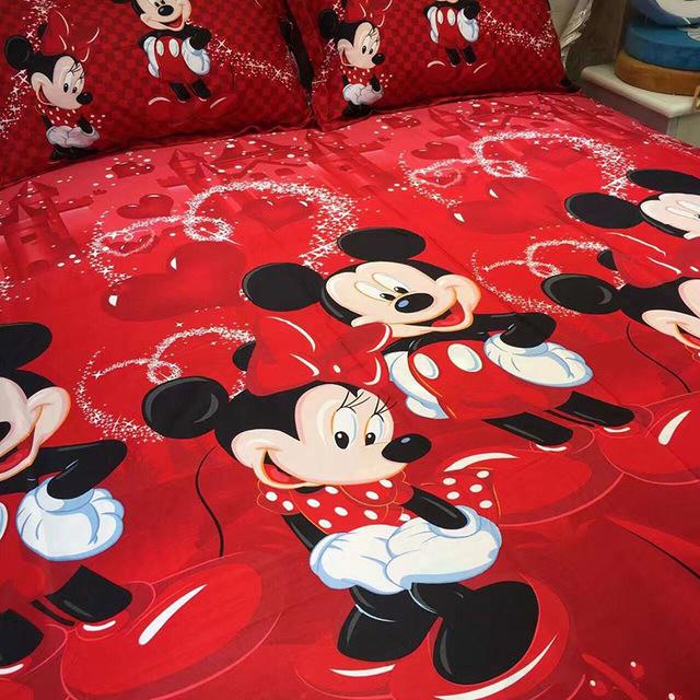 100% Cotton Mickey Mouse Bedding Set