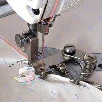 Industrial Sewing Machine Accessories Flat Chiffon Curl Edge Presser Foot Hem Curved Edge Presser Feet Puller Faucet