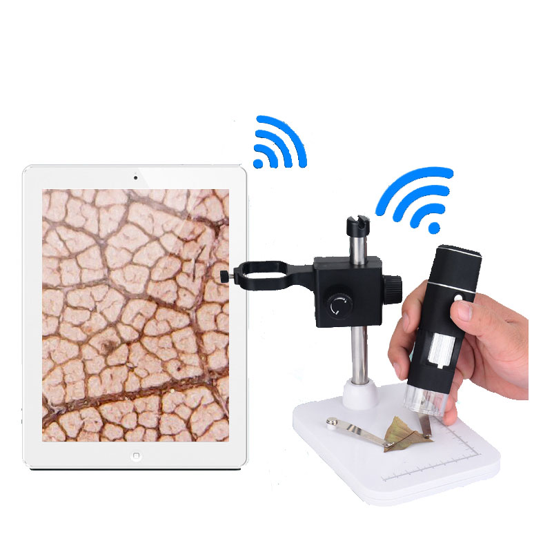 10-500X  8 LED lights Portable WIFI Digital Video Microscope Magnifier camera Support IOS/Android 10-500X  8 LED lights Portable WIFI Digital Video Microscope Magnifier camera Support IOS/Android