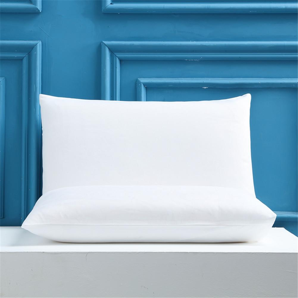 Solid Pillow case for bed Waterproof Pillow protector Against Dust Mites and Bed Bug pillowcase Hypoallergenic Pillow cover