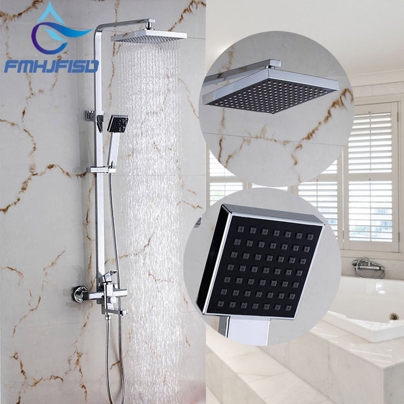 Factory Retail Bathroom Shower Mixer Faucet with 8