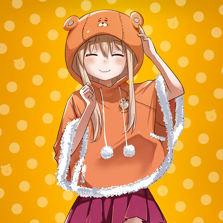 Anime Absolute of Domain Himouto Cute Lovely Shawl Cloak Cape Cosplay Costume Any Size Free Shipping NEW